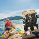 Детские коляски для двойни и для тройни