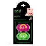 Ортодонтическая пустышка Adiri Logo Paci