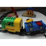 Железная дорога с пассажирской и грузово