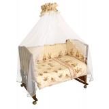Борт в кроватку Сонный гномик Пчелки