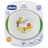 Набор детских тарелок Chicco 12м+