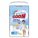 Подгузники-трусики GooN L для мальчиков