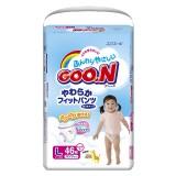 Подгузники-трусики GooN L для девочек  9