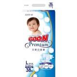 Подгузники GooN Premium L 9-14 кг (38 шт