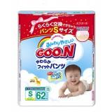 Подгузники-трусики GooN  S 5-9 кг (62 шт