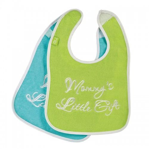 Набор слюнявчиков на липучке Happy Baby Children`s BIB X2 16003