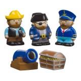 Набор игрушек для ванной Пираты