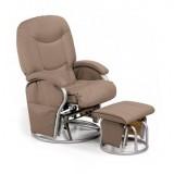 Кресло-качалка для мамы Hauck Metal Glid