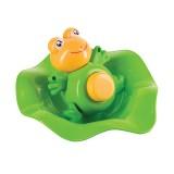 Лягушка-прорезыватель и ковш Happy Baby