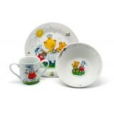 Набор посуды для детей Maman HY-170-A