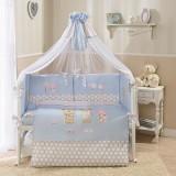 Комплект в кроватку Perina Венеция голуб