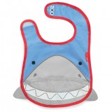 Слюнявчик Skip Hop Zoo Bib / Shark
