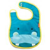 Слюнявчик Skip Hop Zoo Bib / Hippo