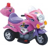 Электромотоцикл TjaGo Mini Police / розо