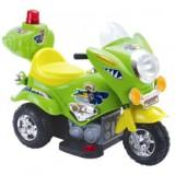 Электромотоцикл TjaGo Mini Police / зеле