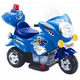 Электромотоцикл TjaGo Mini Police / сини