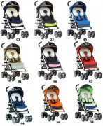 Коляска-трость Chicco Multiway Complete stroller.